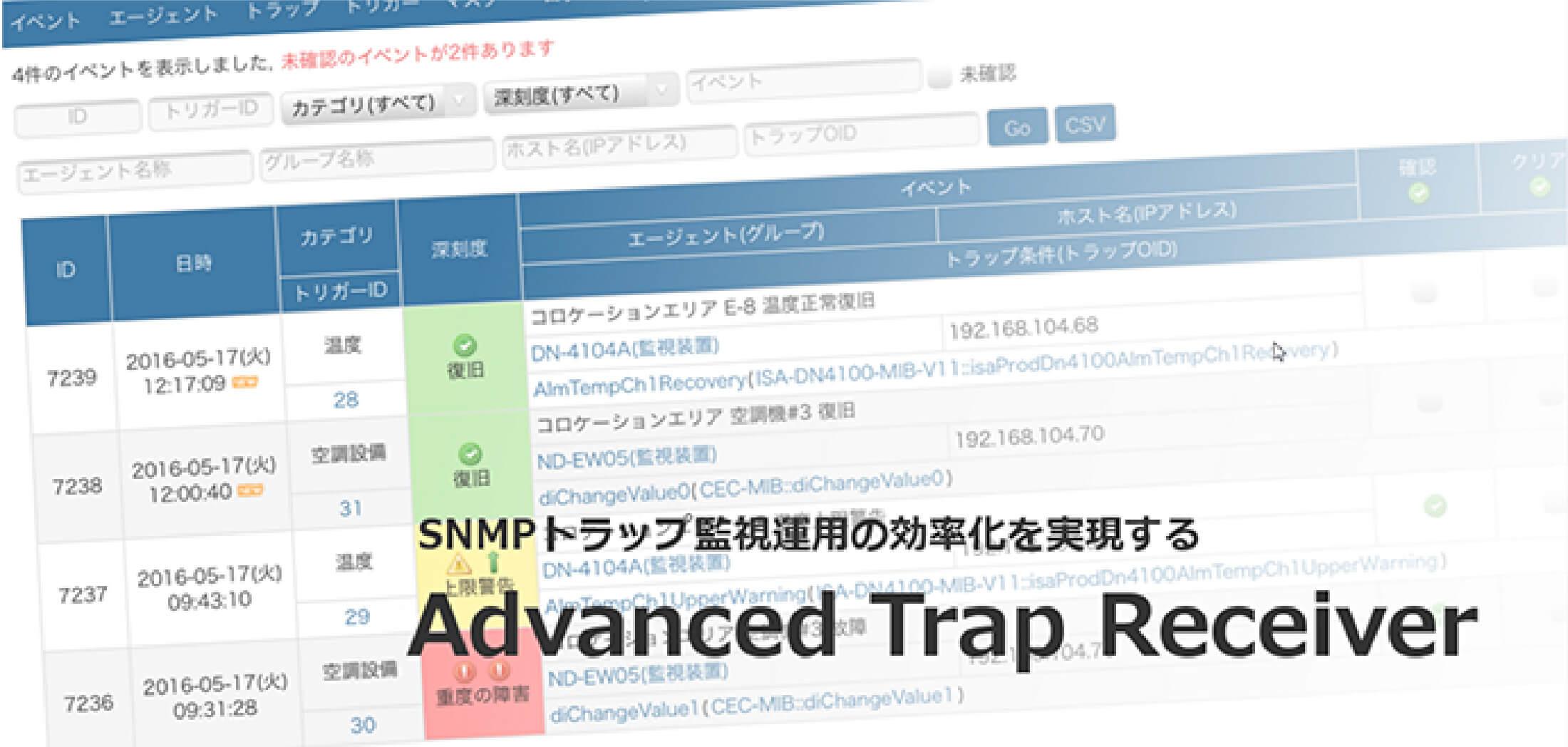 Advanced Trap Receiver(アドバンスド トラップ レシーバー)