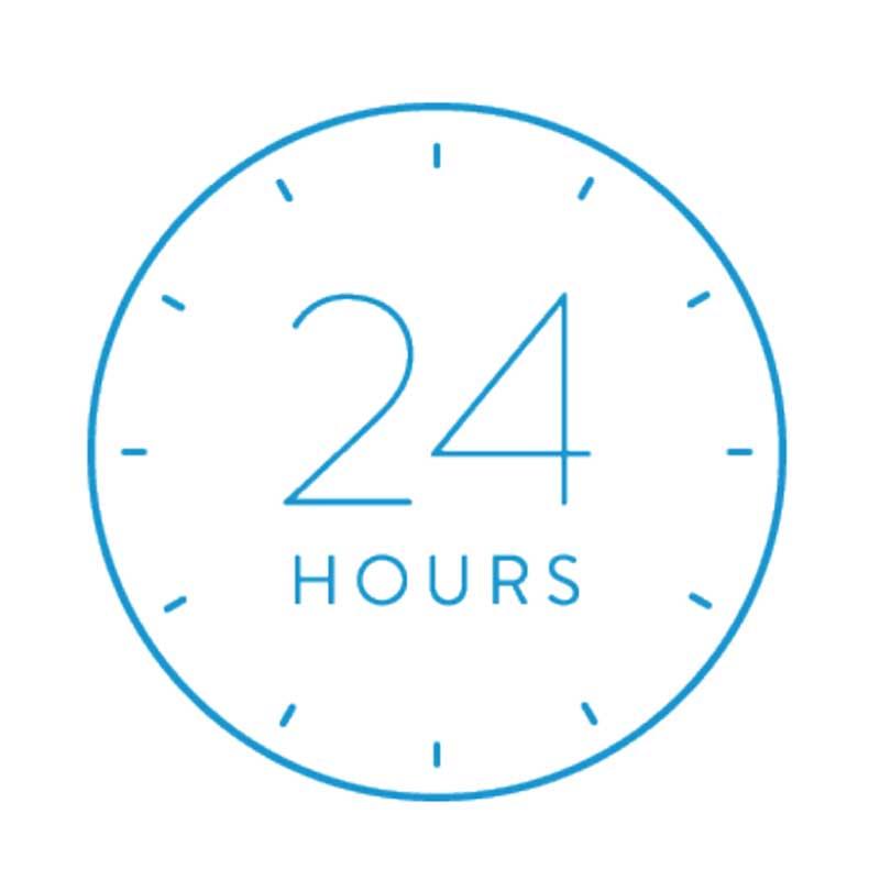 24時間サポート
